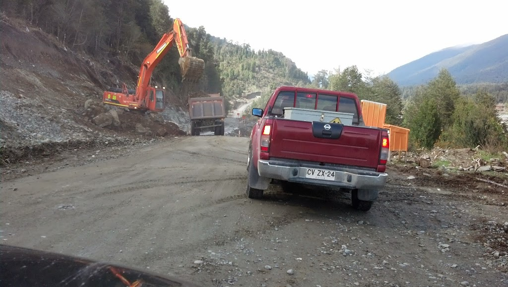 Work on the Carretera Austral continues