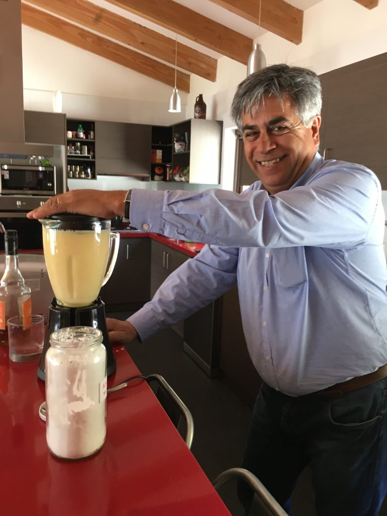 Francisco; in charge of sours